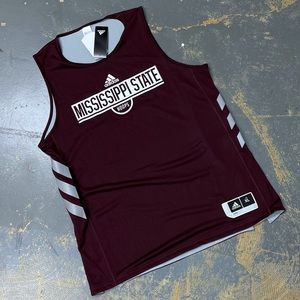 Adidas Mississippi State Hoops Reversible Jersey